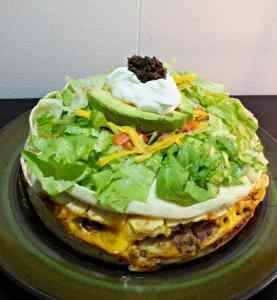 Pressure Cooker Taco Pie Recipe