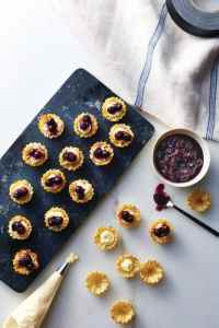 Valerie's Home Cooking Quick-and-Easy Blueberry Cheesecakes Recipe