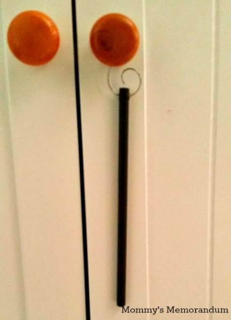 ScentSicles hanging from knob
