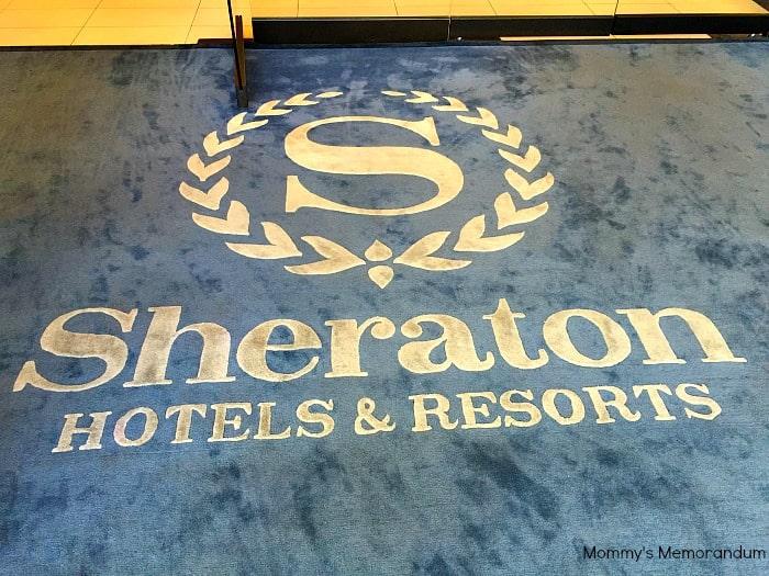 Sheraton Universal welcome mat #SheratonUniverse