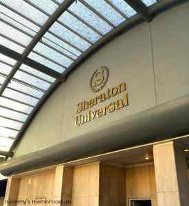 Sheraton Universal Hotel Classic Hollywood Glitz #SheratonUniversal