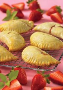 Strawberry Basil Hand Pies and Hand Pie Dough #Recipe