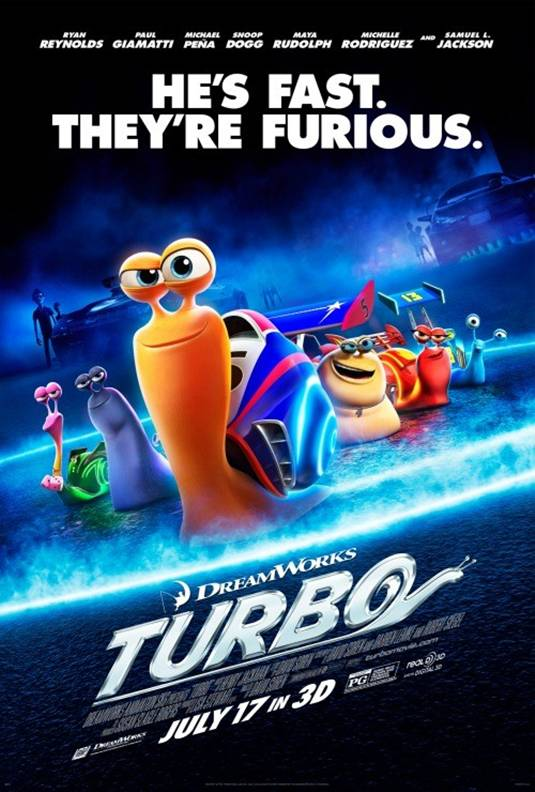 TURBO arrives in theaters July 17