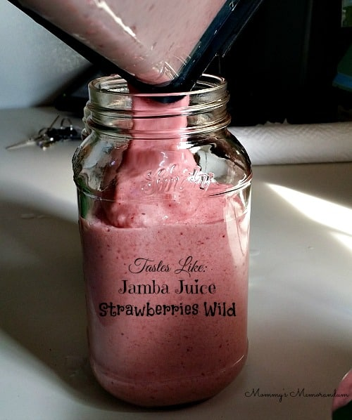 Tastes Like Jamba Juice this smoothie recipe is delicious
