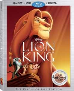 The Lion King is Out of the Disney Vault Today!