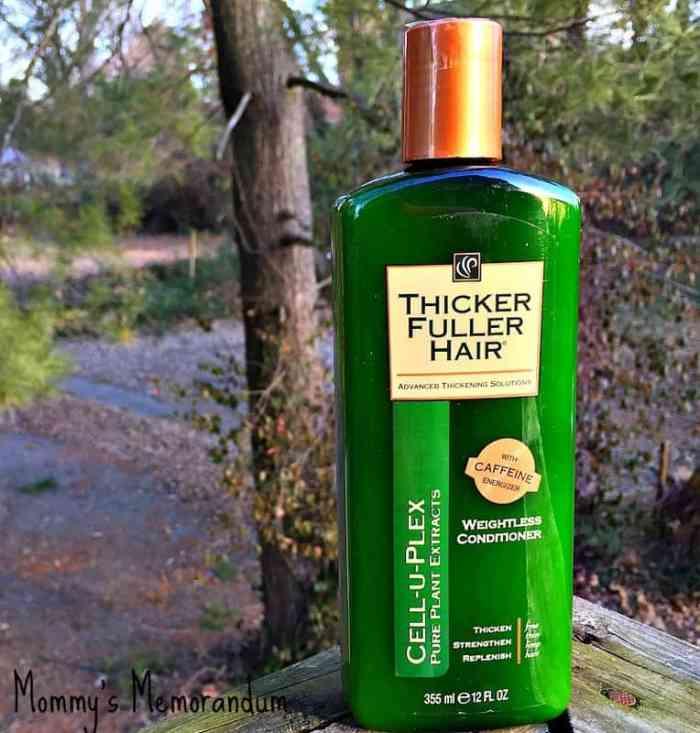 Thicker Fuller Hair Conditioner