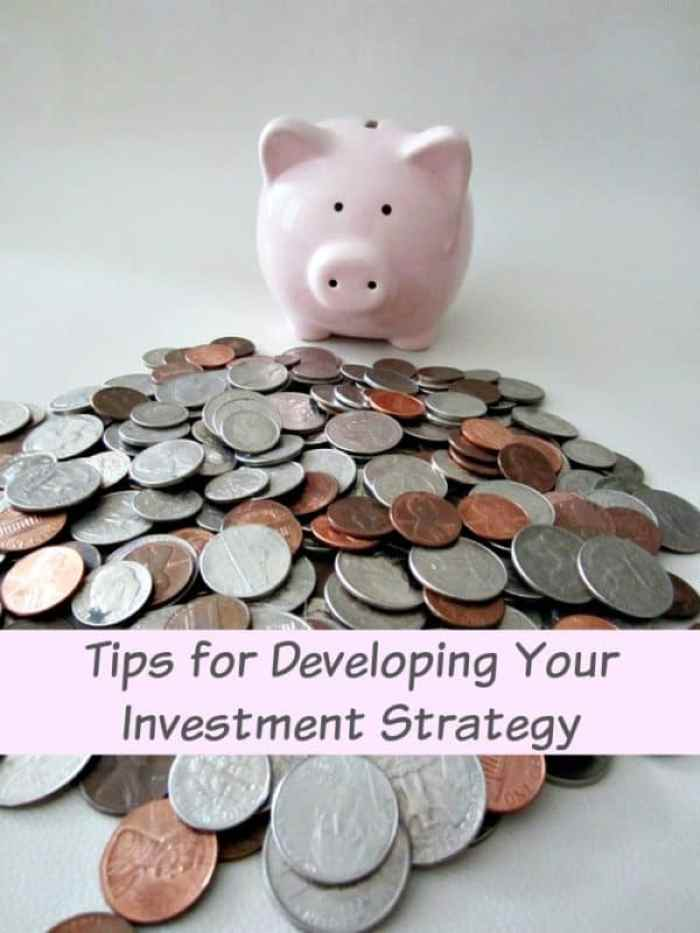 Tips for Developing Your Investment Strategy