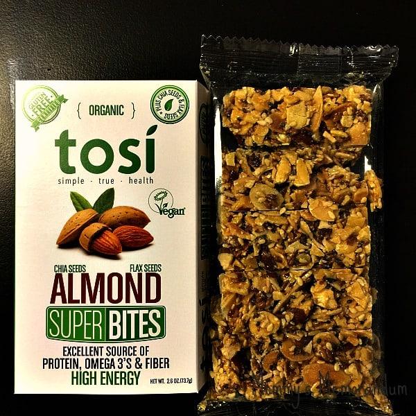 Tosi almond super bites
