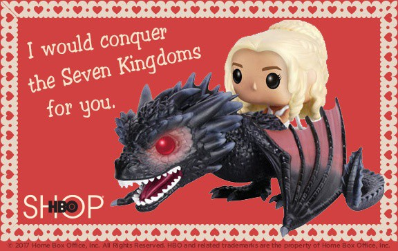Free Printable Game of Thrones Valentine's Day Cards
