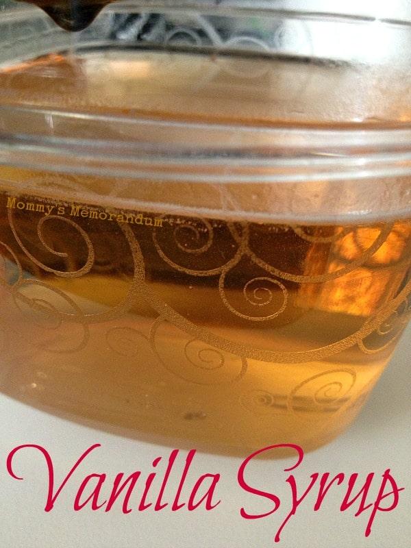 Vanilla Simple Syrup Recipe