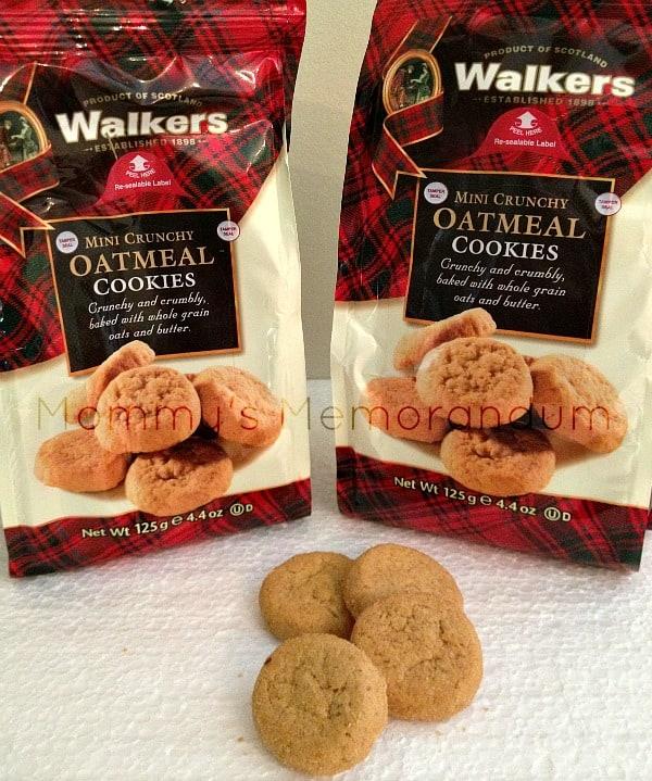 Walkers Oatmeal Cookies