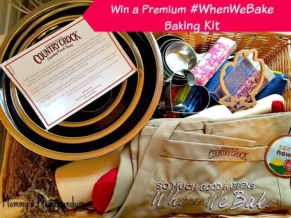 #Win a Premium #WhenWeBake Baking Kit