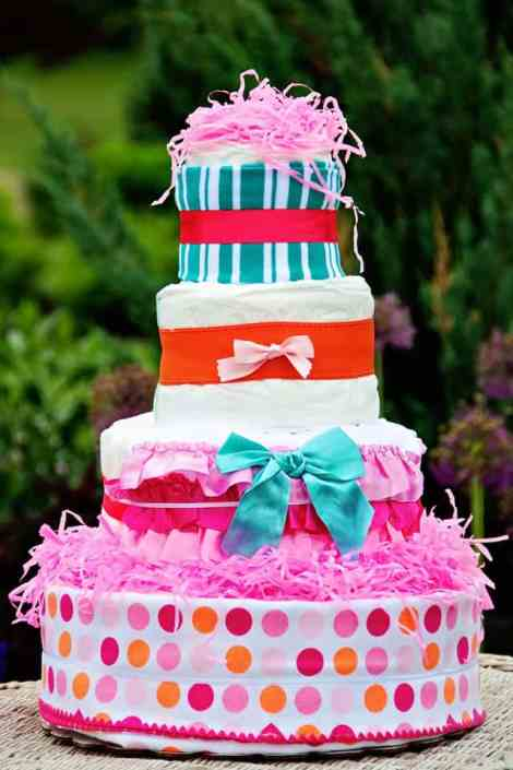 all diaper cake