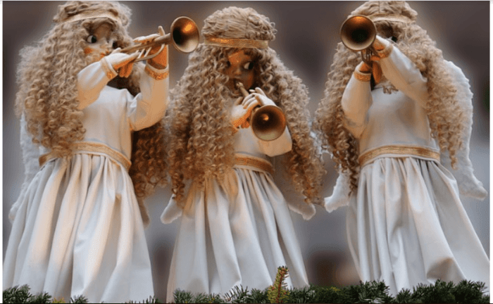 5 Simple Christmas Decorating Tips angels