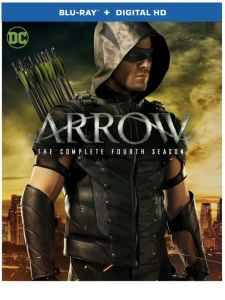 ARROW: The Complete Fourth Season on Blu-Ray, DVD & Digital HD 8/30