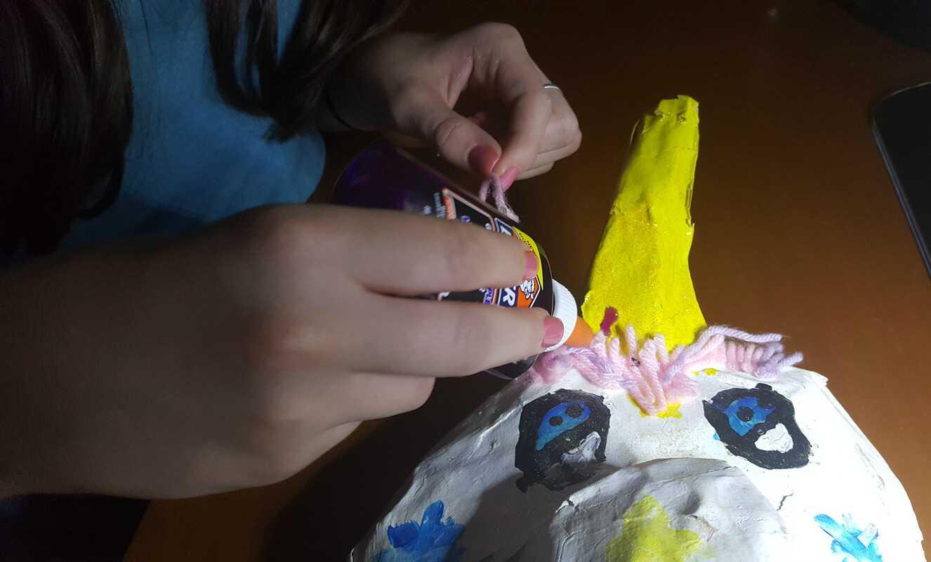 #bestofbacktoschool elmers purple glue