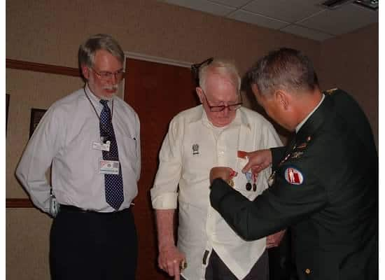 bill meeks world war II medals
