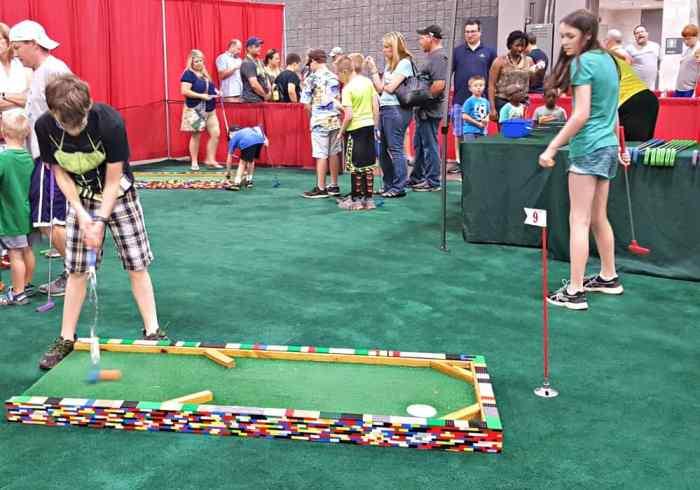brickfest miniature golf