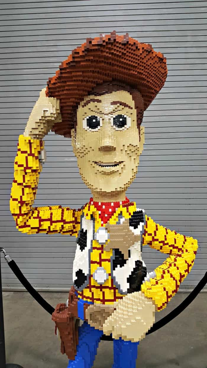 brickfest woody from toy story