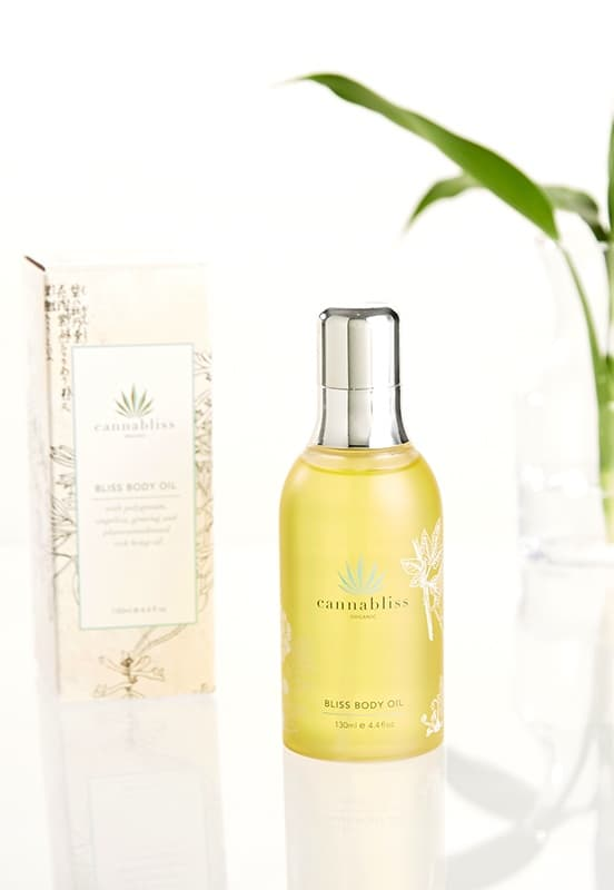 cannabliss body oil