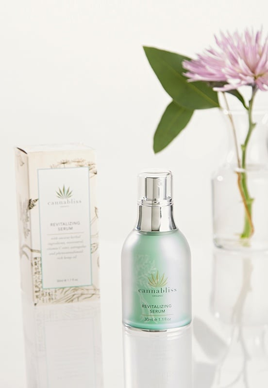 cannabliss revitalizing face serum
