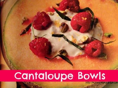 cantaloupe bowls recipe