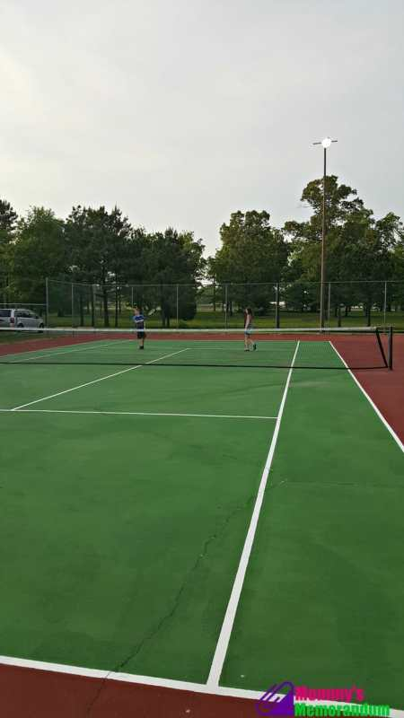 centerstone inn tennis court