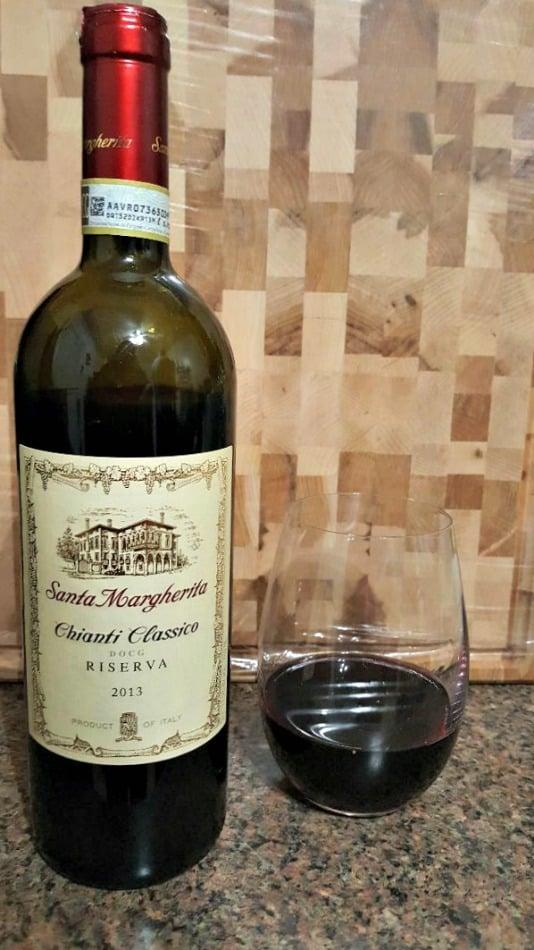 chianti classico riserva from Santa Margherita