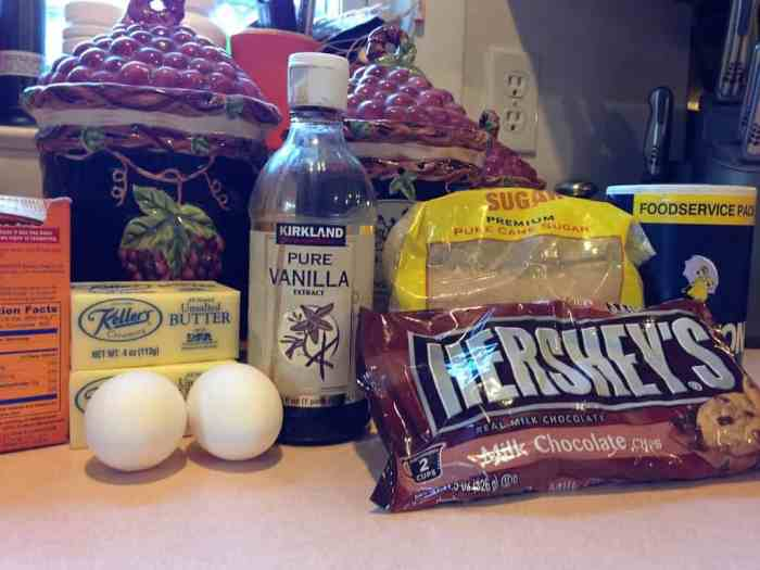 classic chocolate chip cookie ingredients