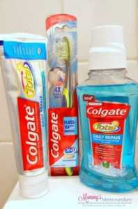 Make the Switch to Colgate Total for Oral Health