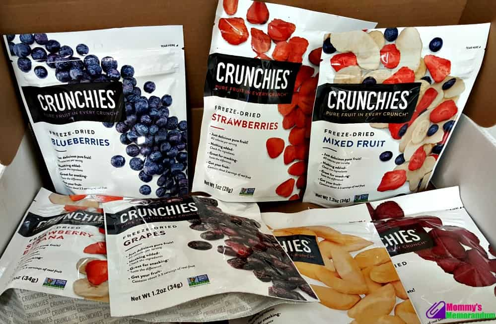 crunchies freeze dried snacks