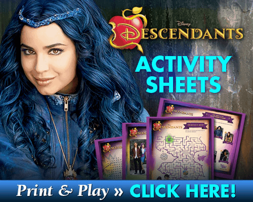 disney activity sheets