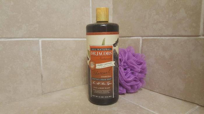 dr jacobs charcoal body wash