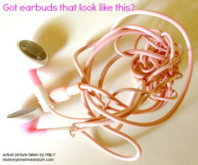 earbuds without earbuds organizer