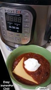 Easy Instant Pot Chili #Recipe