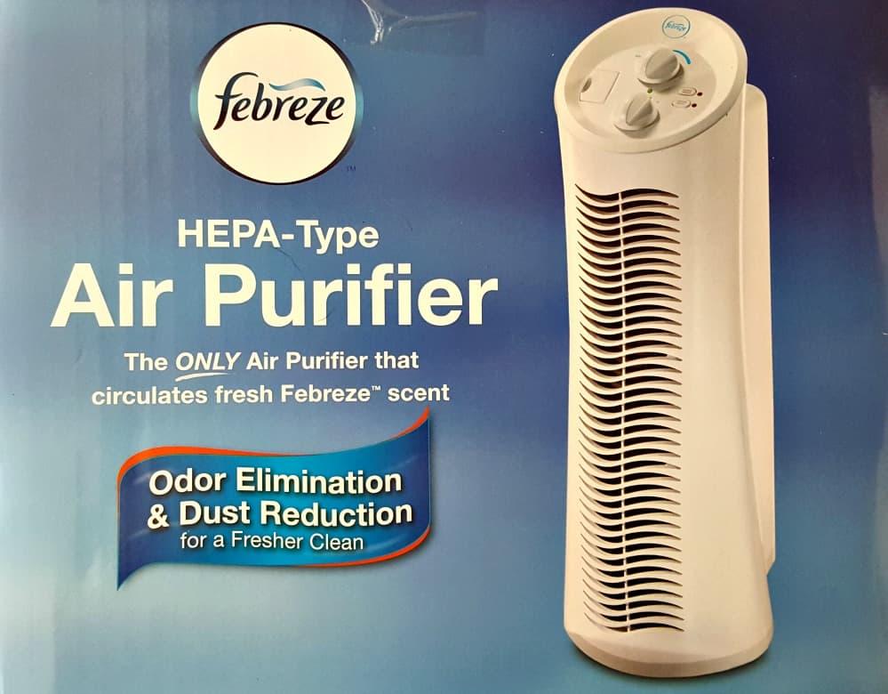 febreeze hepa type air purifier