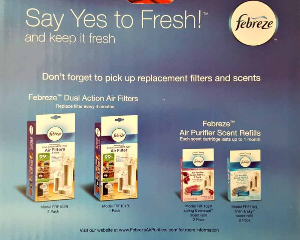 febreeze say yes to fresh