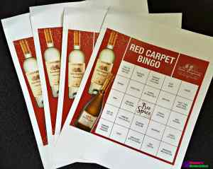 Free Printable Awards Season Bingo and Wine Etiquette