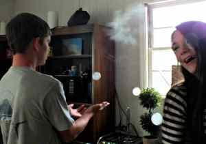 Froggy's Fog Fobbles Bubble Fogger Machine Review
