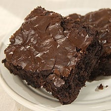 fudge espresso brownies