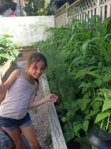 A Garden: Good Old-Fashioned, Unstructured Playtime