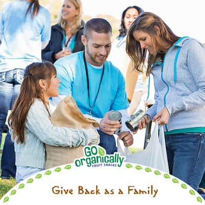 give back as a family