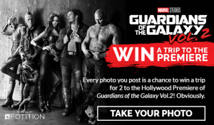 Marvel Studios Hero Acts Sweepstakes #GotGVol2