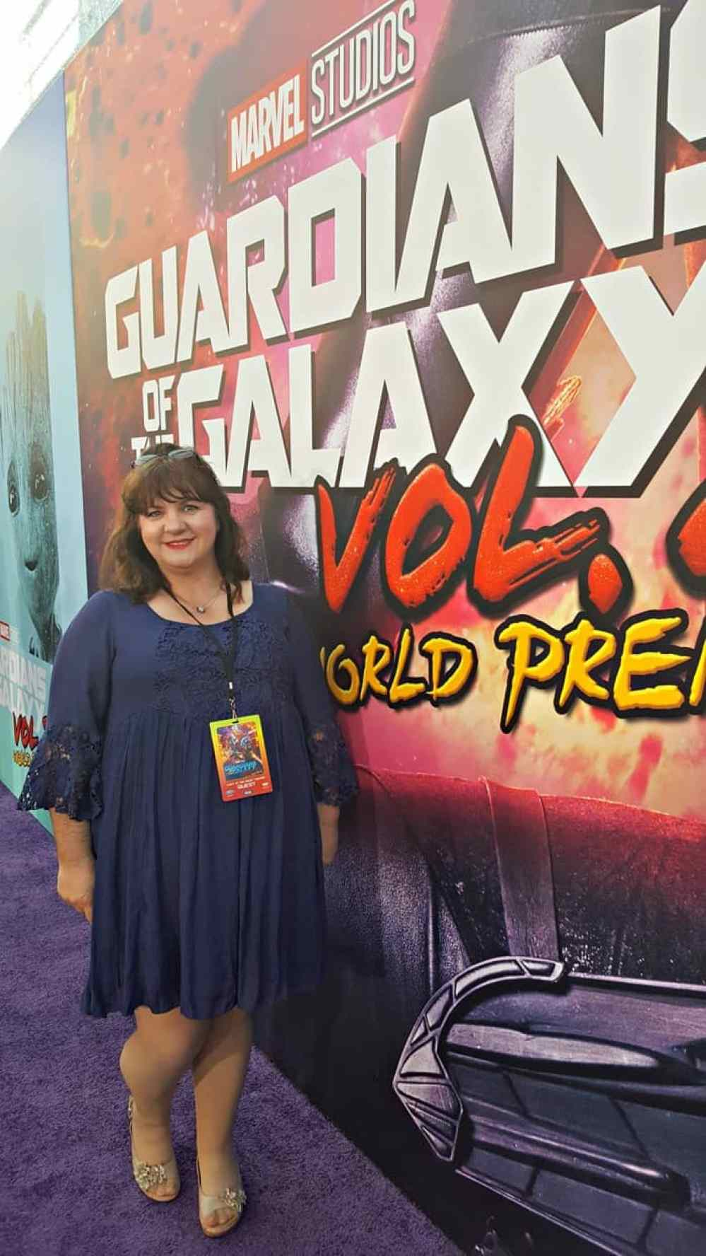 gotgvol2event red carpet julee morrison