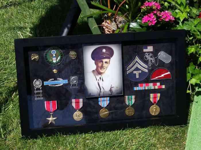 grandpa's world war II medals