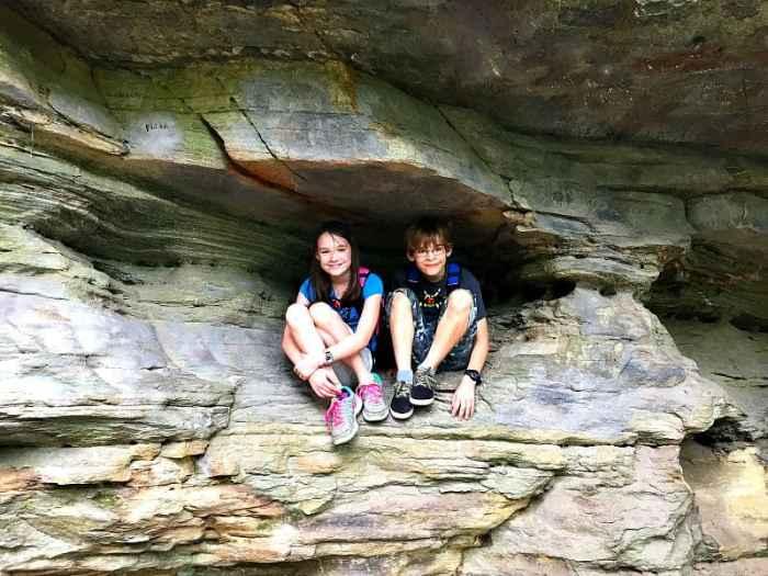 hanging rock cliffs