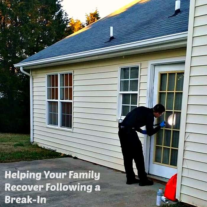 helping your family recover following a break in