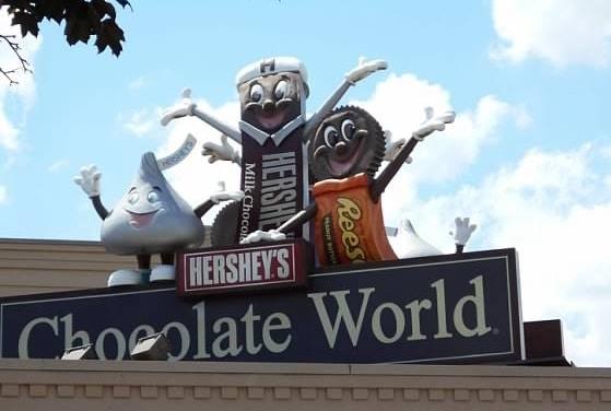 hershey's park chocolate world