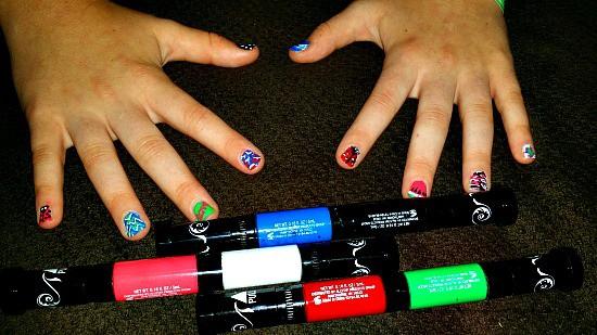 hot designs nail art set