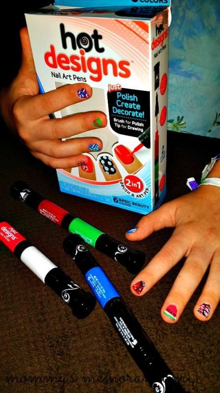 hot designs nail pens